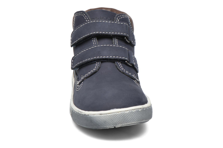 Chaussures à scratch Chicco Carino Bleu vue portées chaussures