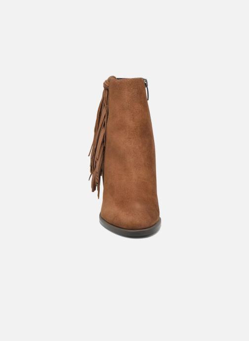 Bottines et boots Bruno Premi Anabella Marron vue portées chaussures