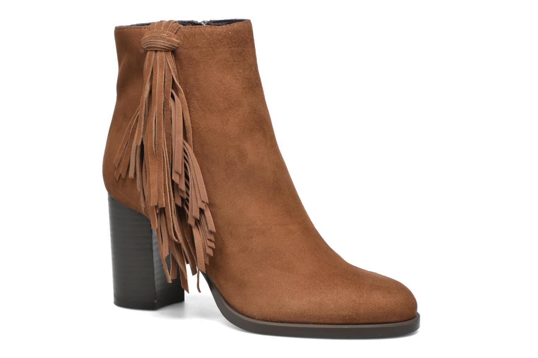 Bottines et boots Bruno Premi Anabella Marron vue détail/paire