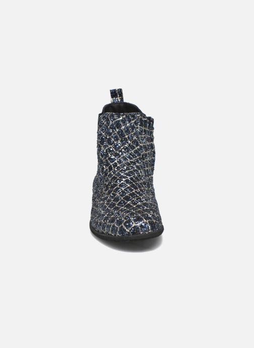 Bottines et boots Manuela de Juan Constance 3 Bleu vue portées chaussures
