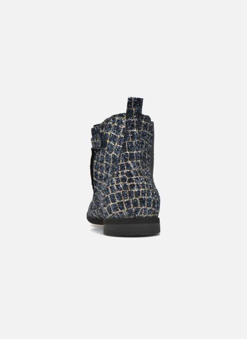 Bottines et boots Manuela de Juan Constance 3 Bleu vue droite
