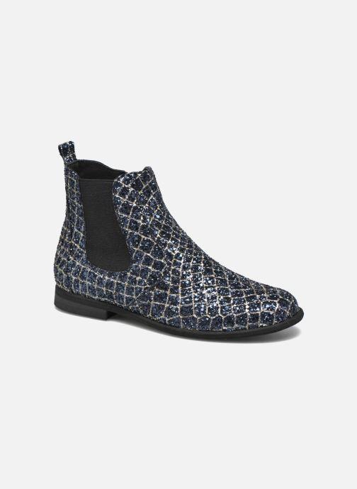 Bottines et boots Manuela de Juan Constance 3 Bleu vue détail/paire