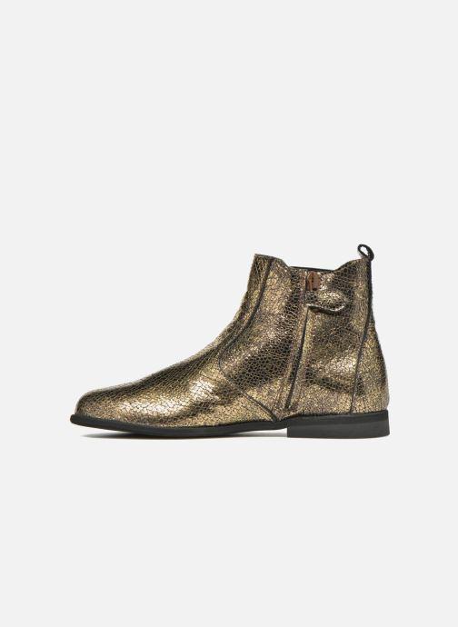 Bottines et boots Manuela de Juan Constance 3 Or et bronze vue face