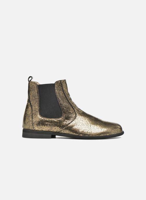 Bottines et boots Manuela de Juan Constance 3 Or et bronze vue derrière