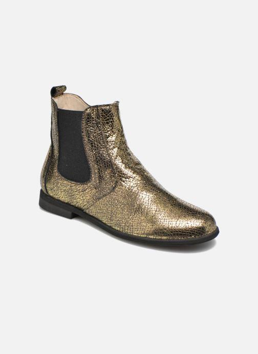 Bottines et boots Manuela de Juan Constance 3 Or et bronze vue détail/paire
