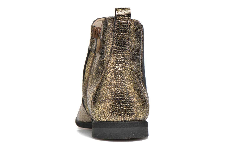 Bottines et boots Manuela de Juan Constance 3 Or et bronze vue droite