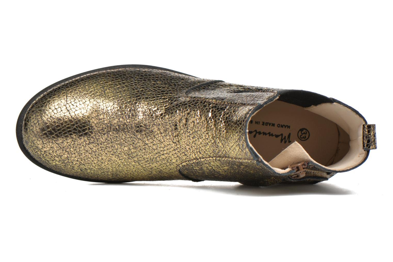 Bottines et boots Manuela de Juan Constance 3 Or et bronze vue gauche