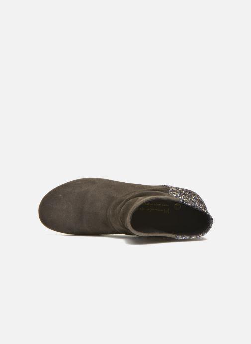 Bottines et boots Manuela de Juan Nikita Gris vue gauche