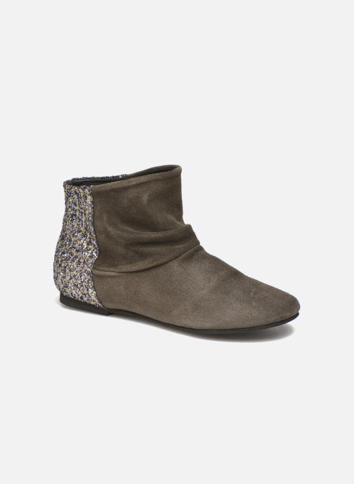 Bottines et boots Manuela de Juan Nikita Gris vue détail/paire