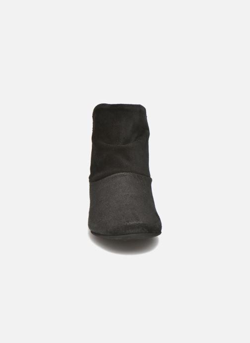 Stiefeletten & Boots Manuela de Juan Nikita schwarz schuhe getragen