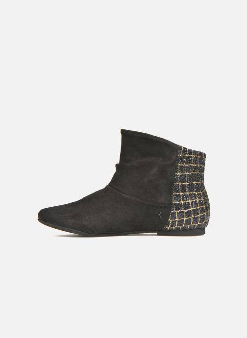 Bottines et boots Manuela de Juan Nikita Noir vue face