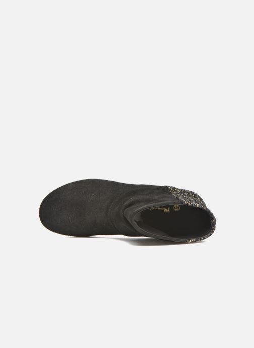 Bottines et boots Manuela de Juan Nikita Noir vue gauche