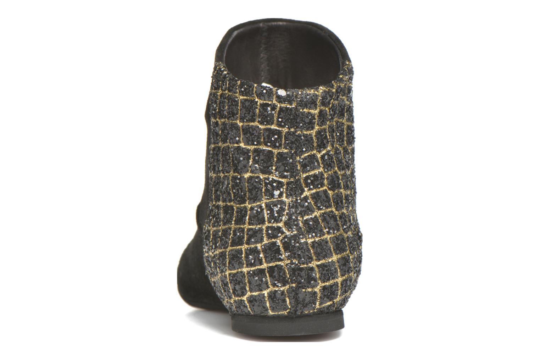 Bottines et boots Manuela de Juan Nikita Noir vue droite