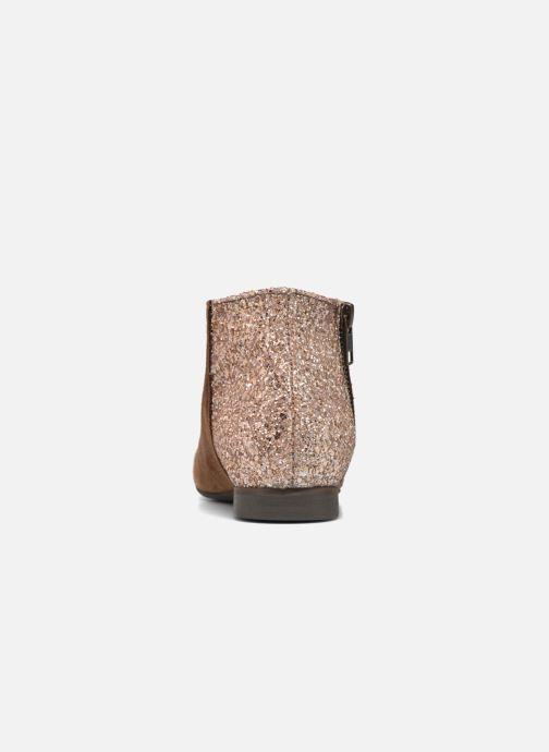 Bottines et boots Manuela de Juan Jenifer Marron vue droite