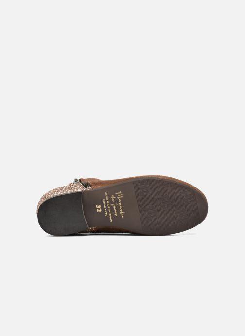 Bottines et boots Manuela de Juan Jenifer Marron vue haut