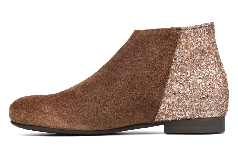 Bottines et boots Manuela de Juan Jenifer Marron vue face