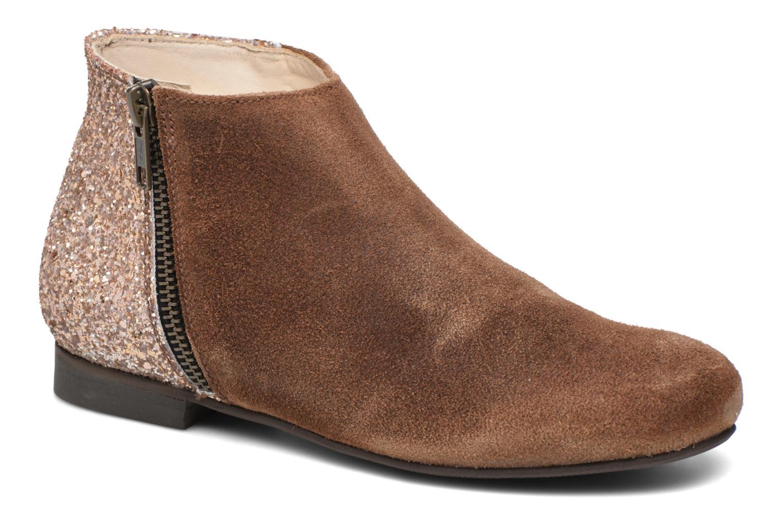 Bottines et boots Manuela de Juan Jenifer Marron vue détail/paire