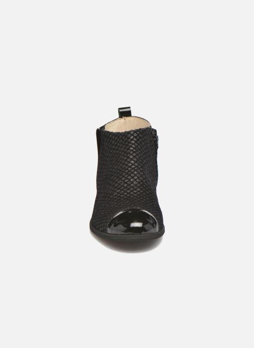 Bottines et boots Manuela de Juan Olivia Noir vue portées chaussures