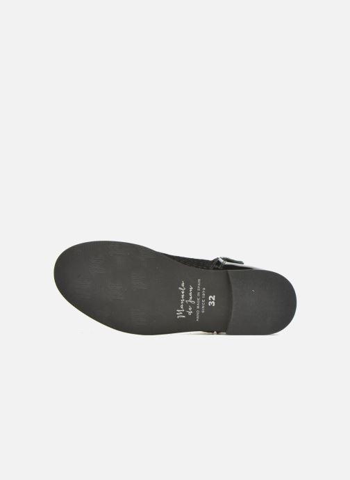 Bottines et boots Manuela de Juan Olivia Noir vue haut