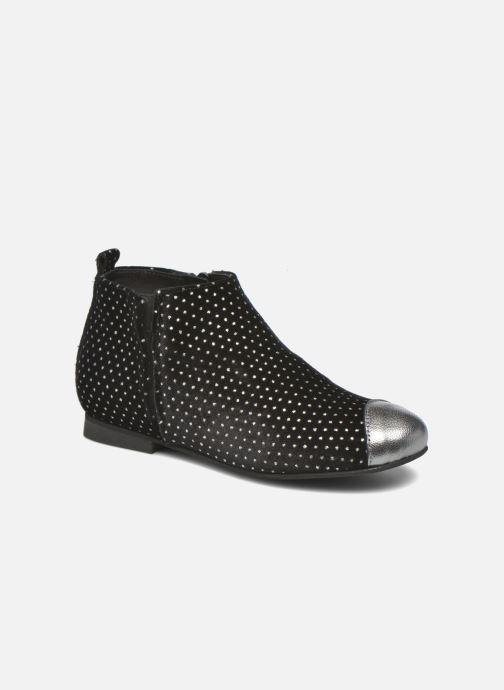 Ankle boots Manuela de Juan Olivia Black detailed view/ Pair view