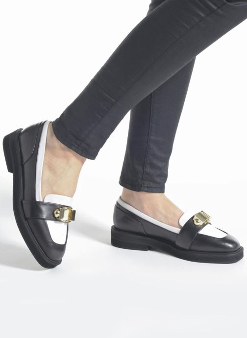 Loafers Carven Mocassin Sort se forneden