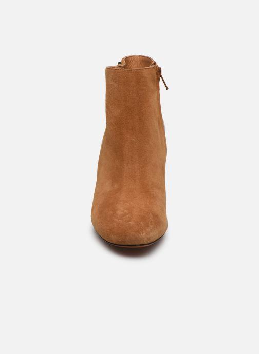 Bottines et boots Carven Bottines Resonnance Marron vue portées chaussures