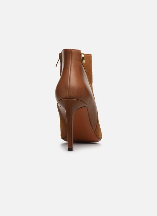 Bottines et boots Carven Bottines Resonnance Marron vue droite