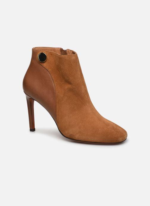 Bottines et boots Carven Bottines Resonnance Marron vue détail/paire
