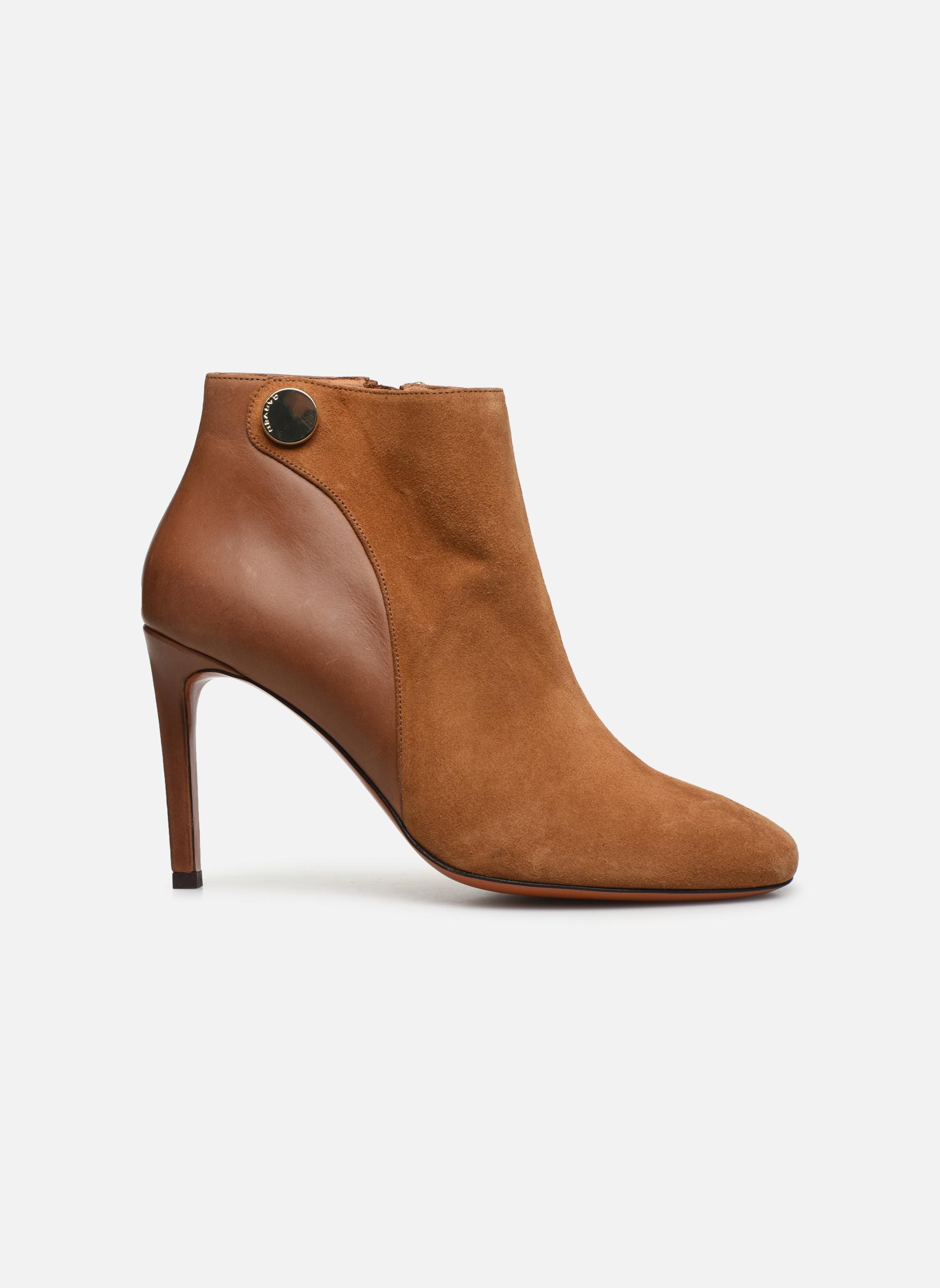 Bottines et boots Carven Bottines Resonnance Marron vue derrière