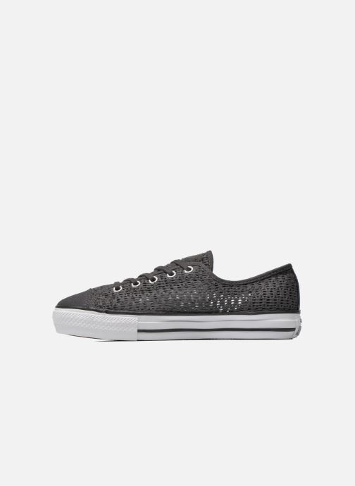 Sneakers Converse Chuck Taylor All Star High Line Ox Grijs voorkant