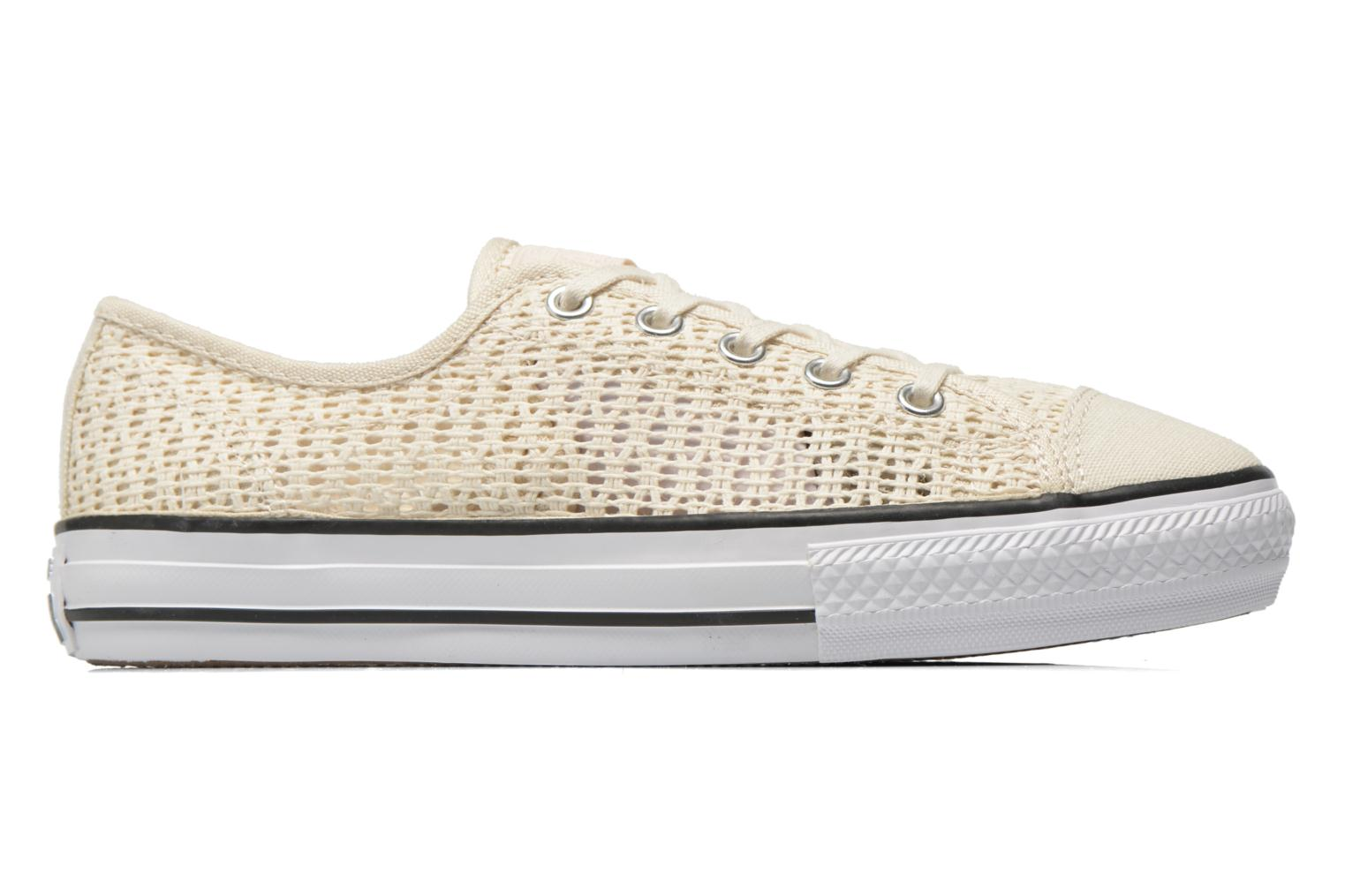 Sneakers Converse Chuck Taylor All Star High Line Ox Beige immagine posteriore