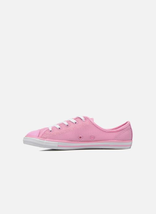 Baskets Converse Chuck Taylor All Star Dainty Ox W Rose vue face