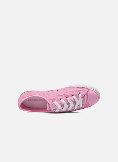 Sneakers Converse Chuck Taylor All Star Dainty Ox W Rosa immagine sinistra
