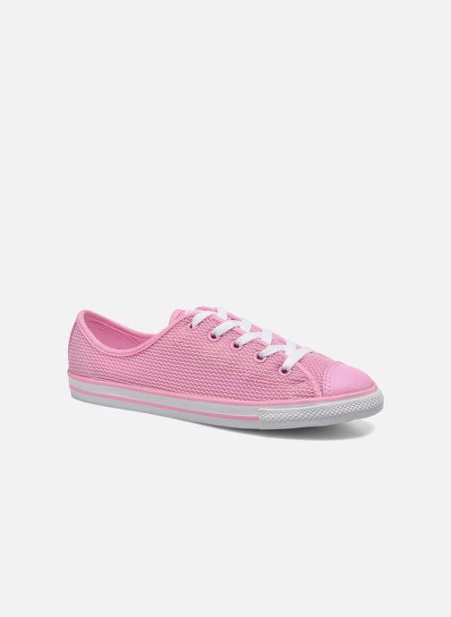 Sneakers Converse Chuck Taylor All Star Dainty Ox W Pink detaljeret billede af skoene