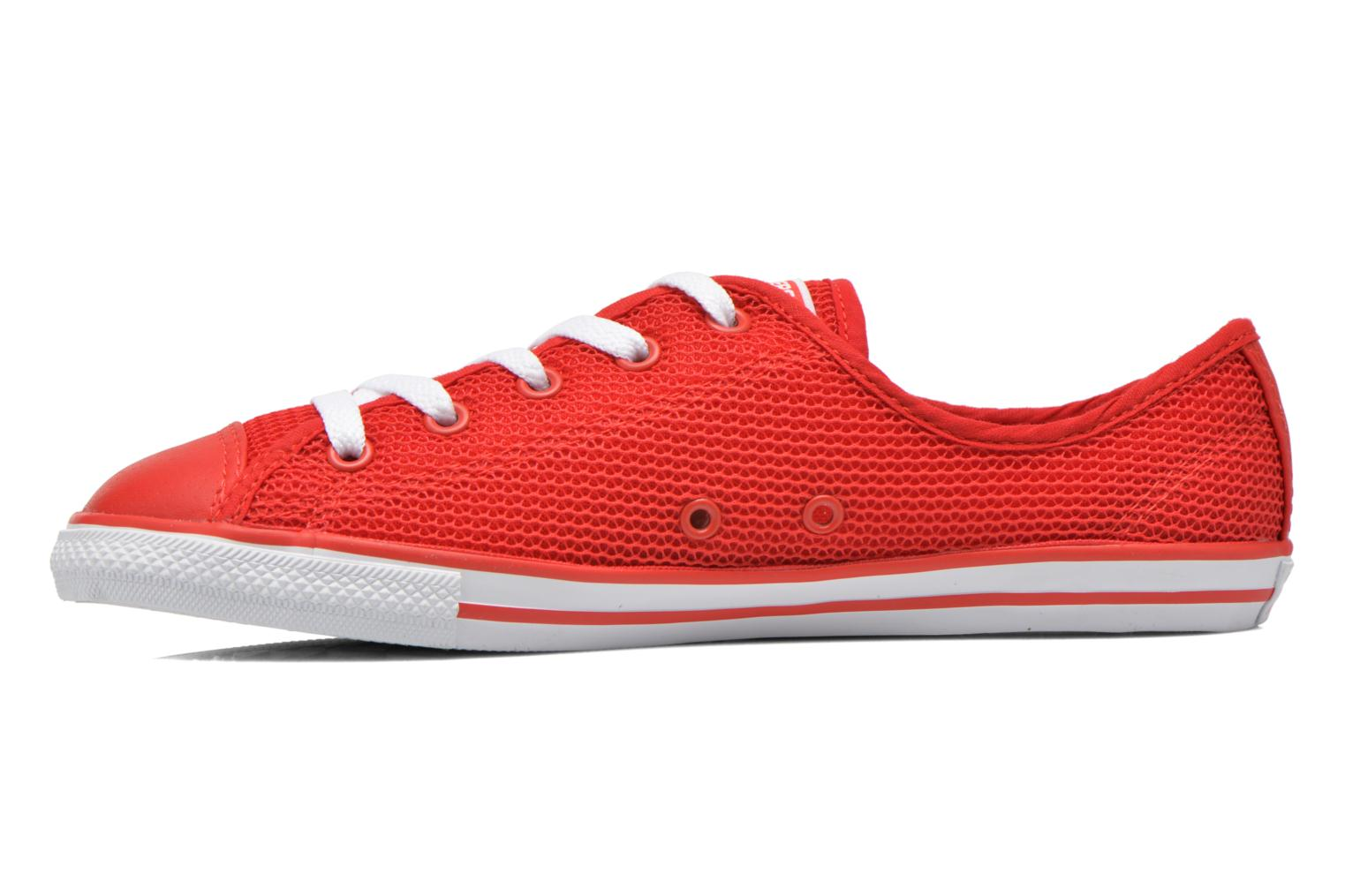 Baskets Converse Chuck Taylor All Star Dainty Ox W Rouge vue face