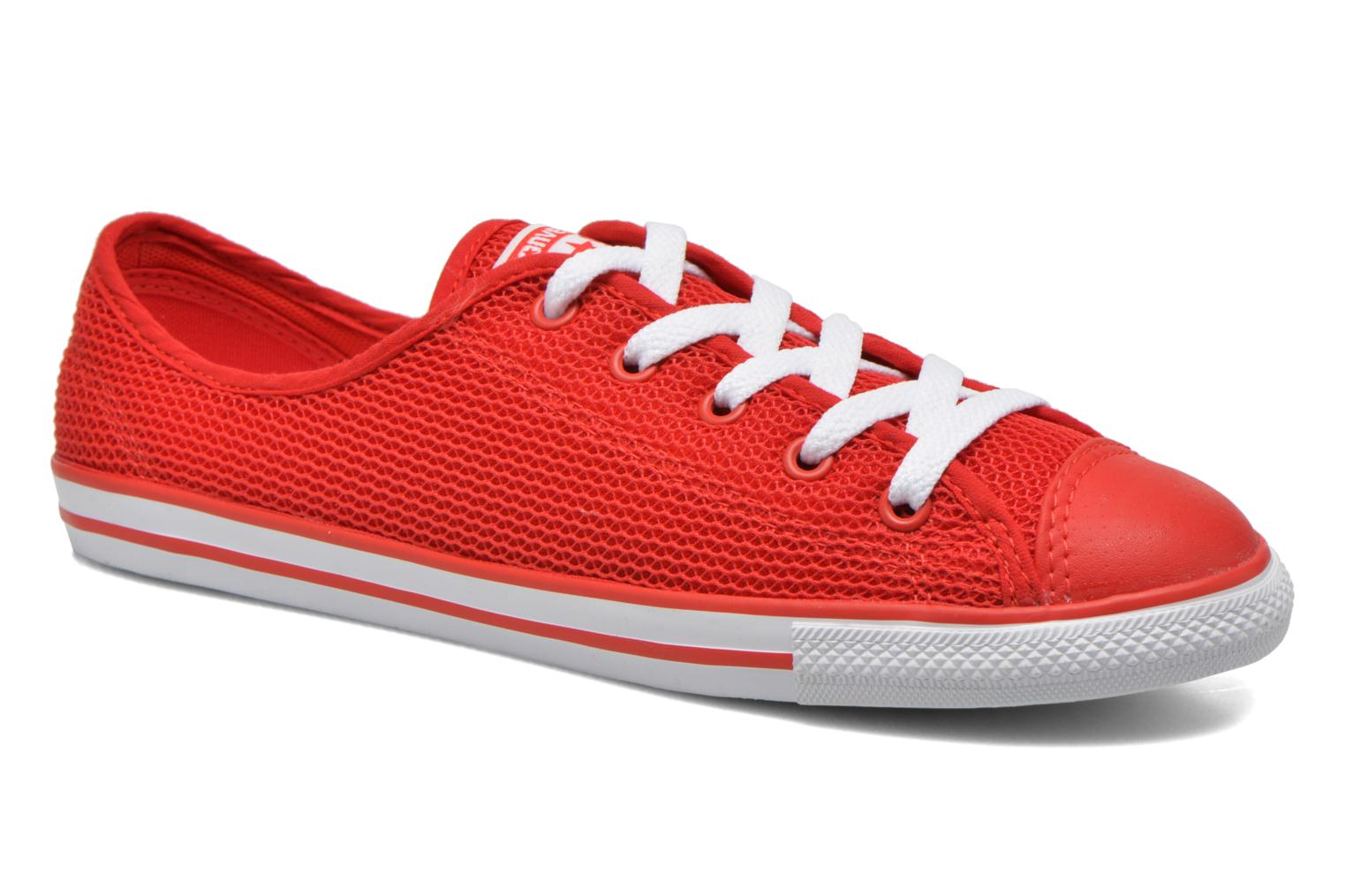 Baskets Converse Chuck Taylor All Star Dainty Ox W Rouge vue détail/paire