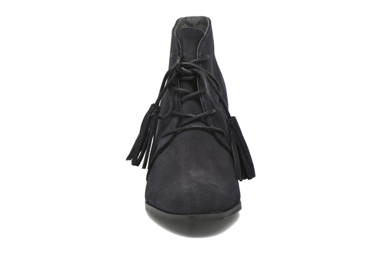 Bottines et boots Georgia Rose Celipom Bleu vue portées chaussures