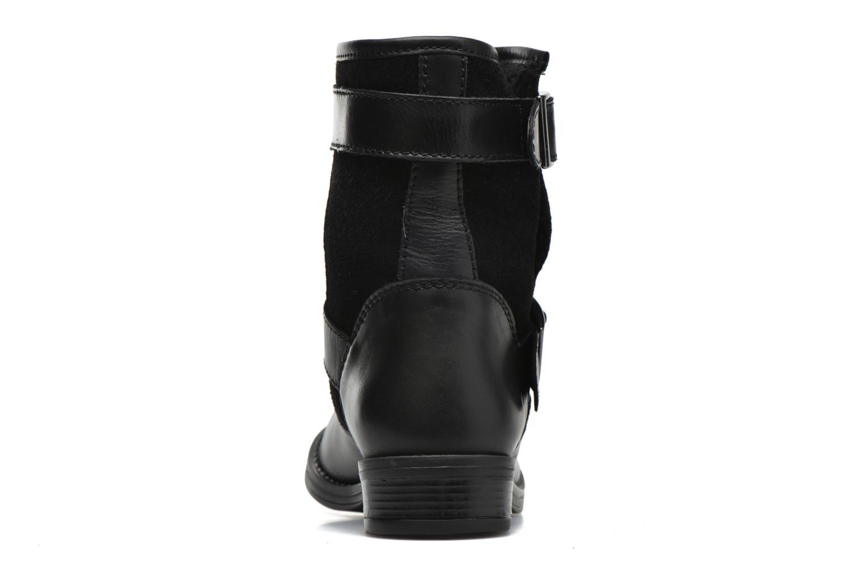Bottines et boots Georgia Rose Celebi Noir vue droite