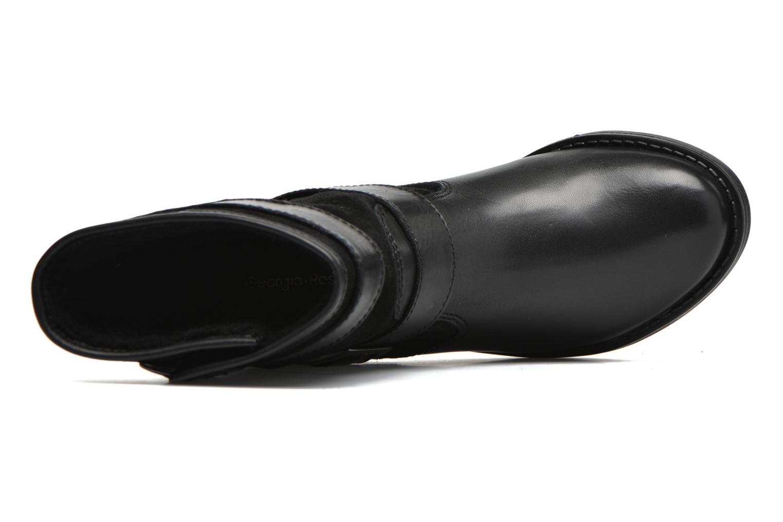Bottines et boots Georgia Rose Celebi Noir vue gauche