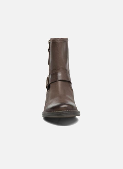 Boots en enkellaarsjes Georgia Rose Celeste Bruin model