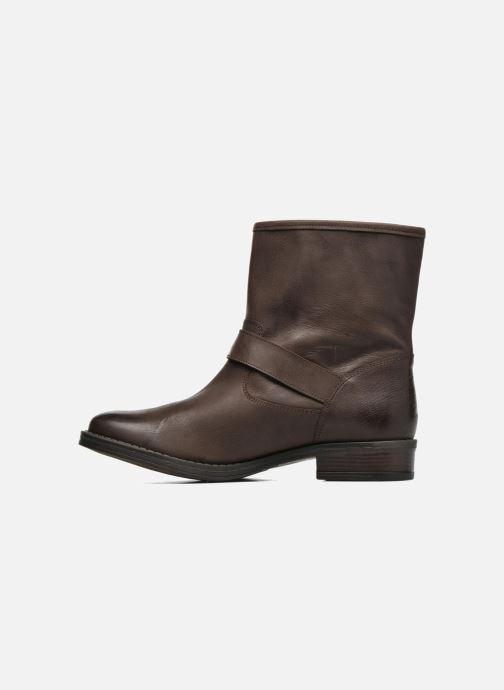 Boots en enkellaarsjes Georgia Rose Celeste Bruin voorkant