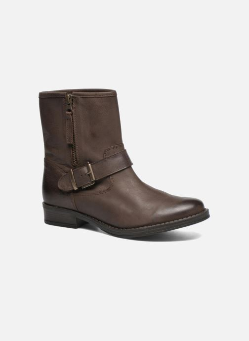 Boots en enkellaarsjes Georgia Rose Celeste Bruin detail