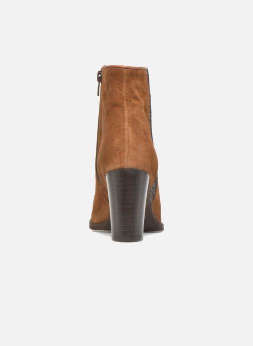 Boots en enkellaarsjes Georgia Rose Celulu Bruin rechts