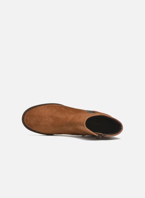 Boots en enkellaarsjes Georgia Rose Celulu Bruin links