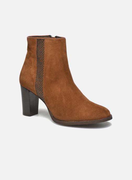 Boots en enkellaarsjes Georgia Rose Celulu Bruin detail