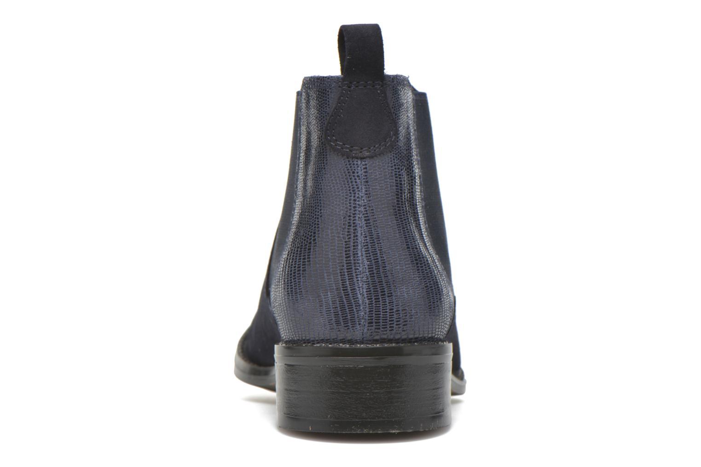 Bottines et boots Georgia Rose Celadon Bleu vue droite