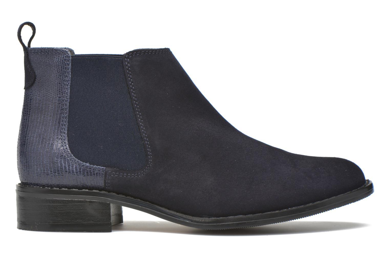 Bottines et boots Georgia Rose Celadon Bleu vue derrière