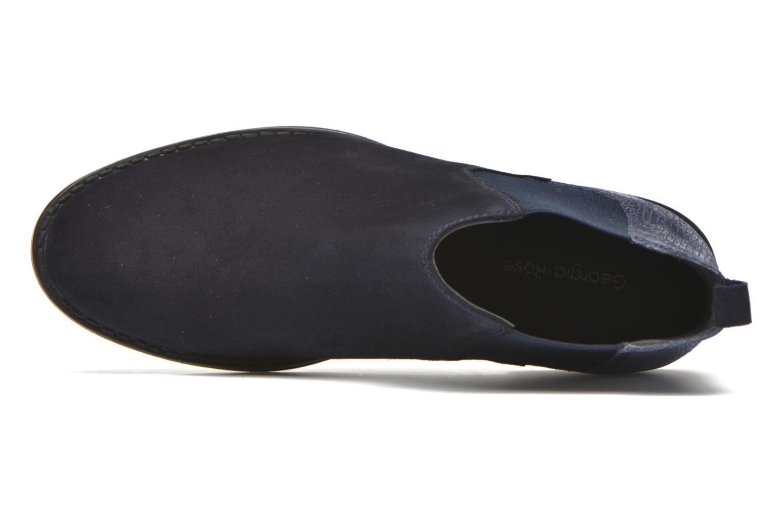 Bottines et boots Georgia Rose Celadon Bleu vue gauche
