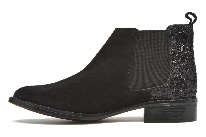 Bottines et boots Georgia Rose Celadon Noir vue face