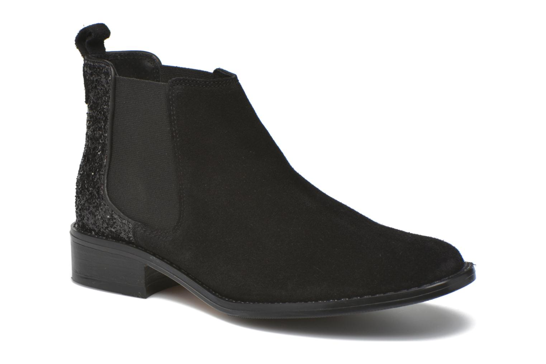 Bottines et boots Georgia Rose Celadon Noir vue détail/paire